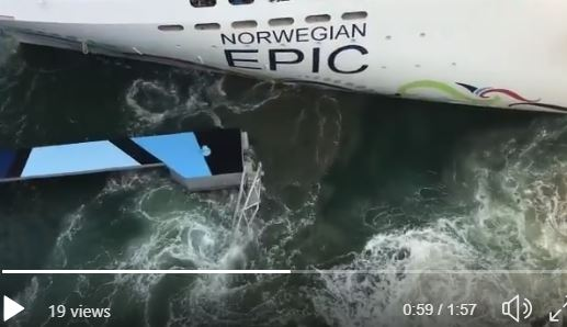 Norwegian Epic Crashes Into Dock In San Juan Cruise Law News